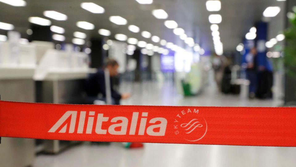 Über zehntausend Menschen sind bei Alitalia beschäftigt