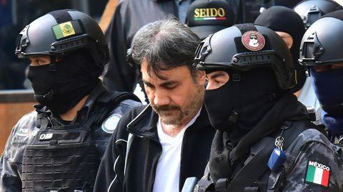 Schwerbewaffnete Soldaten und Polizisten stürmten die Wohnung von López Núñez und nahmen den Verbrecherboss fest