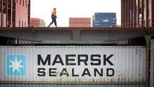 Container der Maersk-Linie