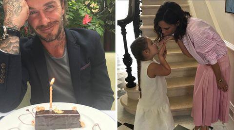 David Beckham feiert Geburtstag