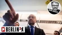 Der SPD-Kanzlerkandidat Martin Schulz