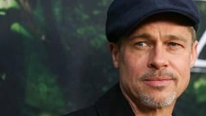 """Brad Pitt bei der Premiere von """"Die versunkene Stadt Z"""" im April 2017"""
