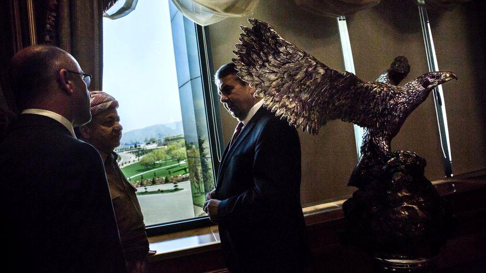 Sigmar Gabriel besucht mit dem Irak ein zerrissenes Land