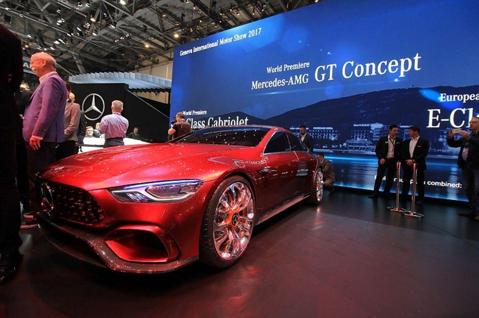 Mercedes AMG GT Concept - soll den Panamera angreifen