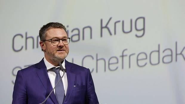 Christian Krug, Chefredakteur des stern