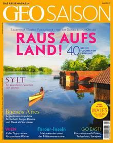 """Das vollständige Interview mit Michel Abdollahi finden Sie in """"Geo Saison"""", Heft 5/2017, ab sofort am Kiosk, Preis: 6,50 Euro."""