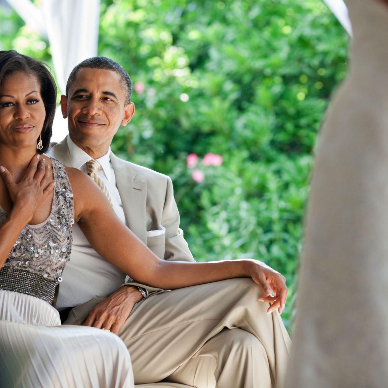 Barack Obama Vor Michelle Wollte Er Eine Andere Heiraten Doch Sie War Weiss Stern De