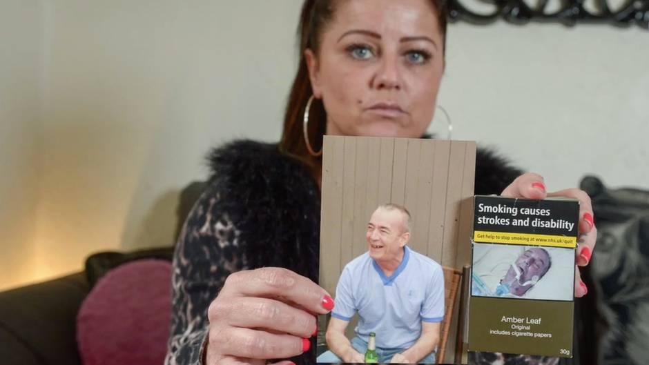 Foto-Schock: Frau erkennt ihren Vater auf einer Zigarettenschachtel