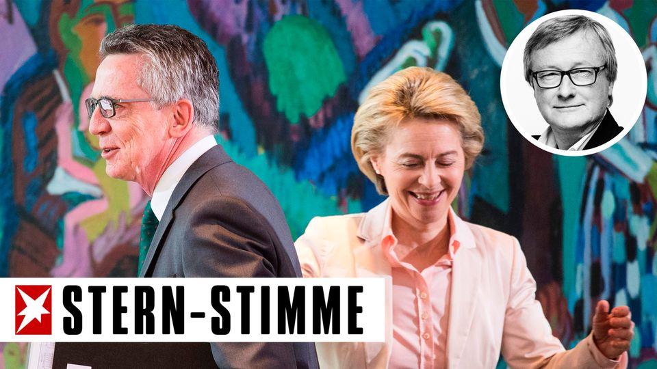 """Ursula von der Leyen im stern-Interview: """"Ich hätte früher und tiefer graben müssen"""""""