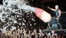 Rammstein-Frontmann Till Lindemann auf dem Wacken Open Air im Jahr 2013