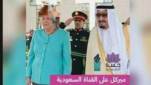 Angela Merkel gepixelt