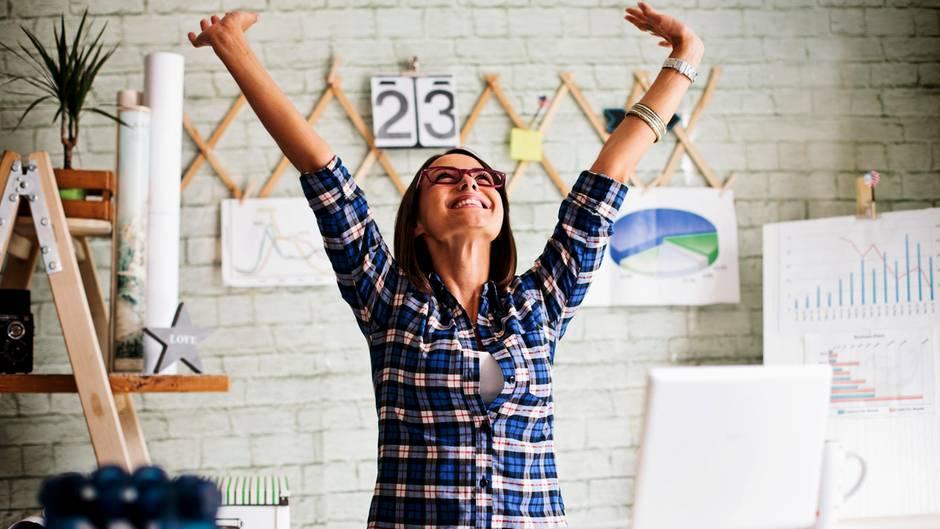 Arbeit kann glücklich machen