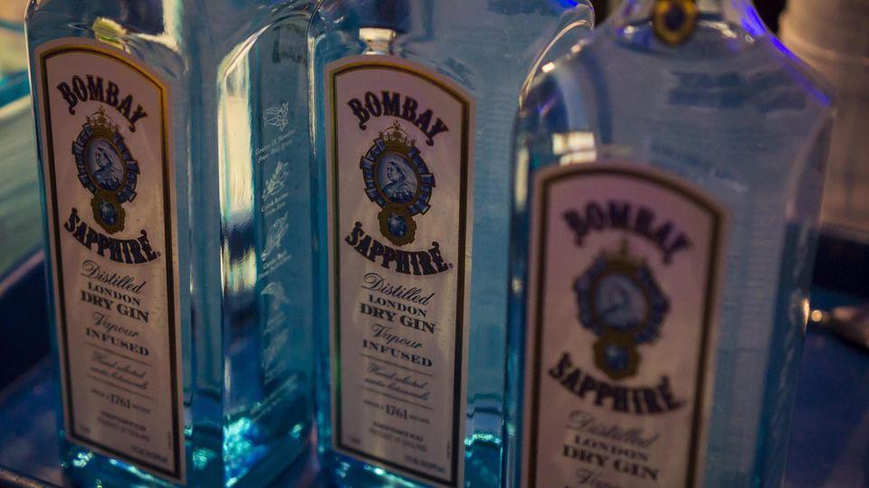 Gin-Flaschen der Marke Bombay Sapphire werden in Kanada zurückgerufen