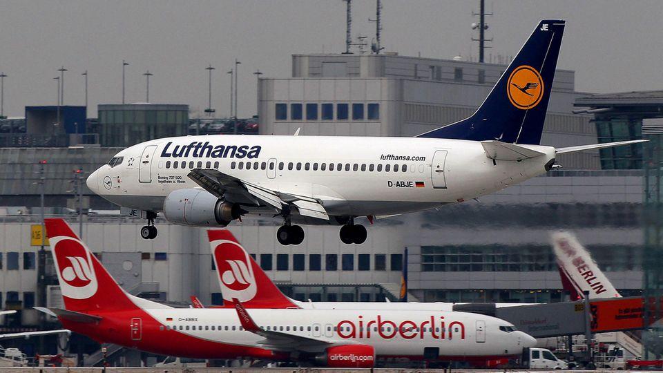 Übernimmt die Lufthansa bald Air Berlin?