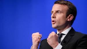 Frankreichs Präsidentschaftskandidat Emmanuel Macron ist Opfer einer Hackerattacke geworden.