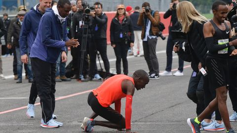 Marathonläufer Eliud Kipchoge