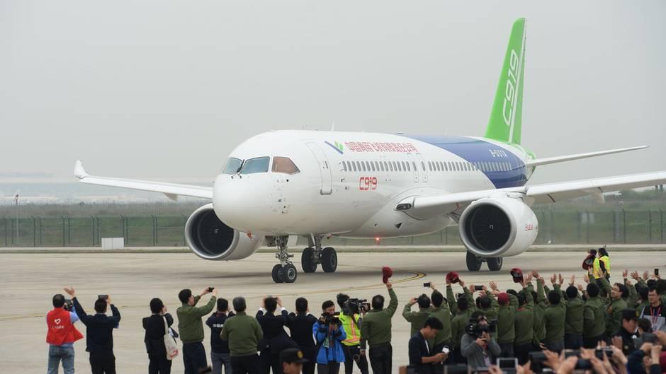 Neues Flugzeug: Comac C919: Mit diesem Jet will China Airbus und Boeing angreifen