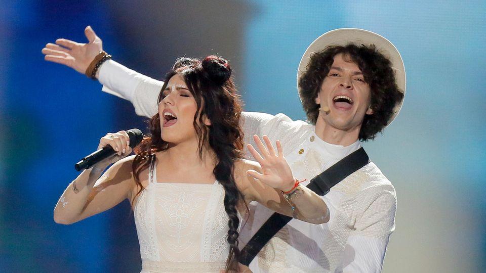 Eurovision Song Contest : Ein Portugiese verzaubert den ESC – so lief das erste Semifinale