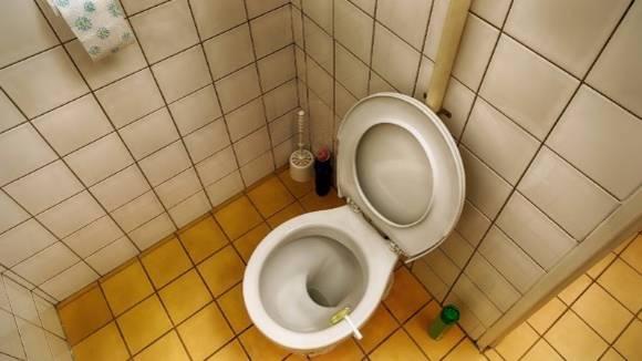 Bakterien-Schleuder: Es gibt einen Ort, an dem Sie nie die Toilette benutzen sollten
