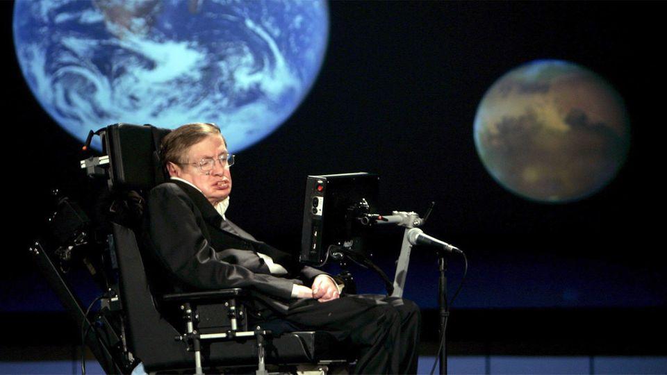 Stephen Hawking: Menschen müssen Erde verlassen