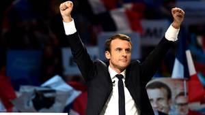 Emmanuel Macron ist Präsident von Frankreich