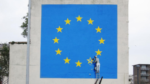 Das neue Graffiti von Banksy in Dover