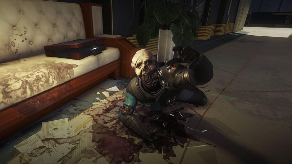 ein screenshot aus dem Videogame Prey
