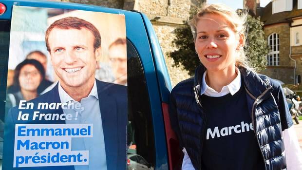 Tiphaine Auzière schwärmt von ihrem Stiefvater Emmanuel Macron