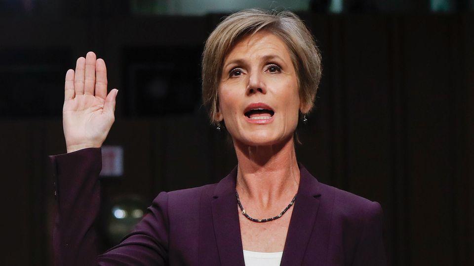 Sally Yates hat das Weiße Haus nach eigenen Angaben vor Michael Flynn gewarnt