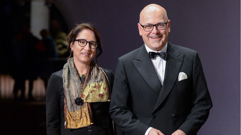 Noch-SPD-Ministerpräsident Torsten Albig mit seiner Lebensgefährtin Bärbel Boy (Archivbild)