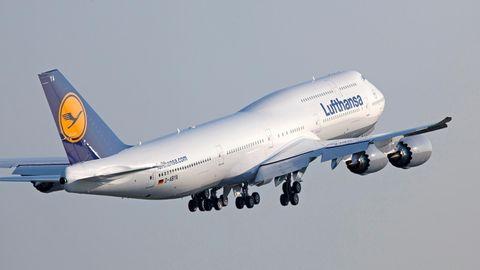 Boeing 747-8 der Lufthansa,