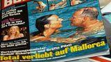 """Rudolf Scharping auf der """"Bunte""""-Titelseite"""