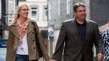 Sigmar Gabriel mit Ehefrau Anke