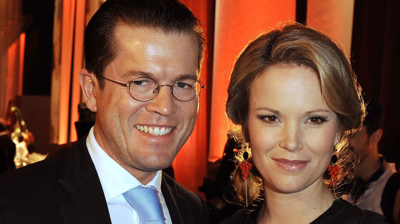Karl-Theodor zu Guttenberg mit Ehefrau Stefanie