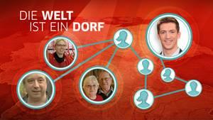 Über wie viele und welche Personen ist Steffen Hallaschka mit diesen Zielpersonen verbunden? Das Experiment wird es zeigen.