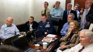 Das White House verfolgt den Bin-Laden-Einsatz