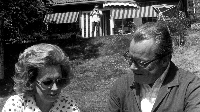 Bundeskanzler Willy Brandt mit Frau Rut