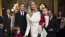 Ivanka Trump mit Ehemann und Kindern