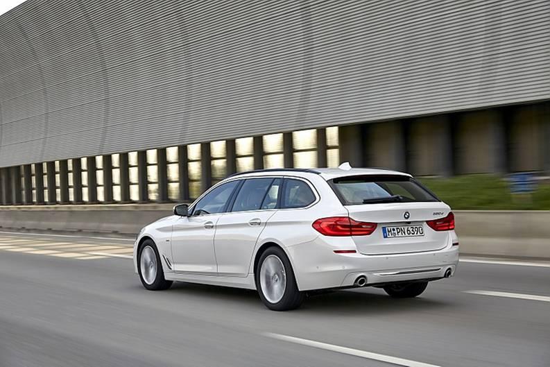 Der BMW 520d Touring ist 4,94 Meter lang
