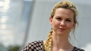 Porträt von Olympiasiegerin Britta Steffen