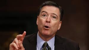 Der ehemalige FBI-Direktor James Comey