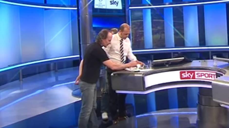 Sky-Moderator Wasserziehr lässt Kaffee umrühren: