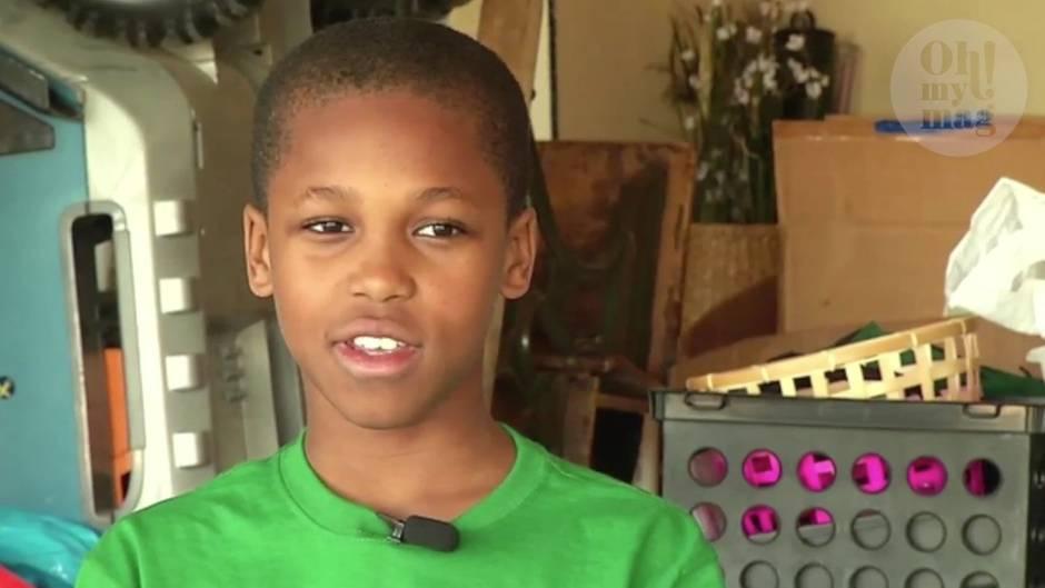 Überhitzung im Auto: Die Erfindung dieses Zehnjährigen kann Kinder vor dem Tod retten