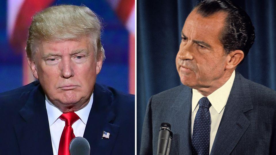 Donald Trump und Richard Nixon