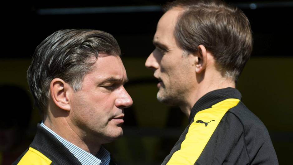 Michael Zorc und Thomas Tuchel