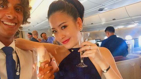 Jungfernflug eines A350 nach Thailland