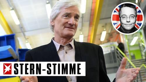 James Dyson - der reichste Staubsaugervertreter der Welt mit Logo stern-Stimme Last Call von Michael Streck