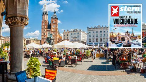 Urlaub in Polen: Ein perfekter Kurztrip? Mit dem Trabi Krakau und das Umland entdecken