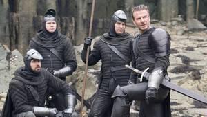 """David Beckham in einer Szene aus dem Film """"King Arthur"""""""
