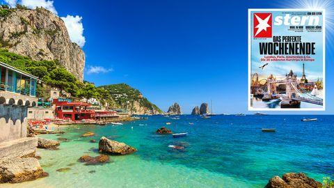 Perfekter Kurztrip: Capri - zwischen bizarren Felsen, Badebuchten und Zitronenhainen